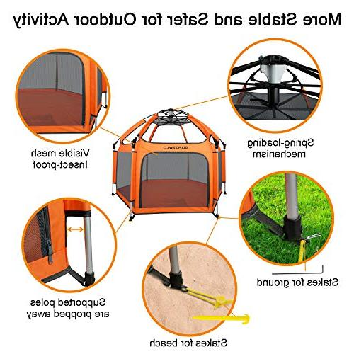 Portable Playard Safety and Insect Anti Outdoor and GOFORWILD