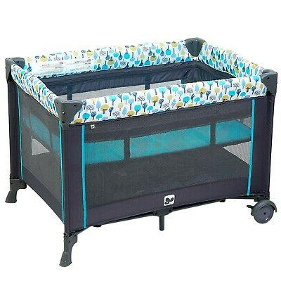 Portable Playard,Sturdy Play with Comfortable Changing