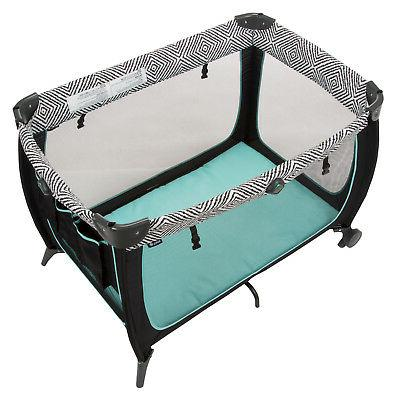 Convertible Play Yard with Secure