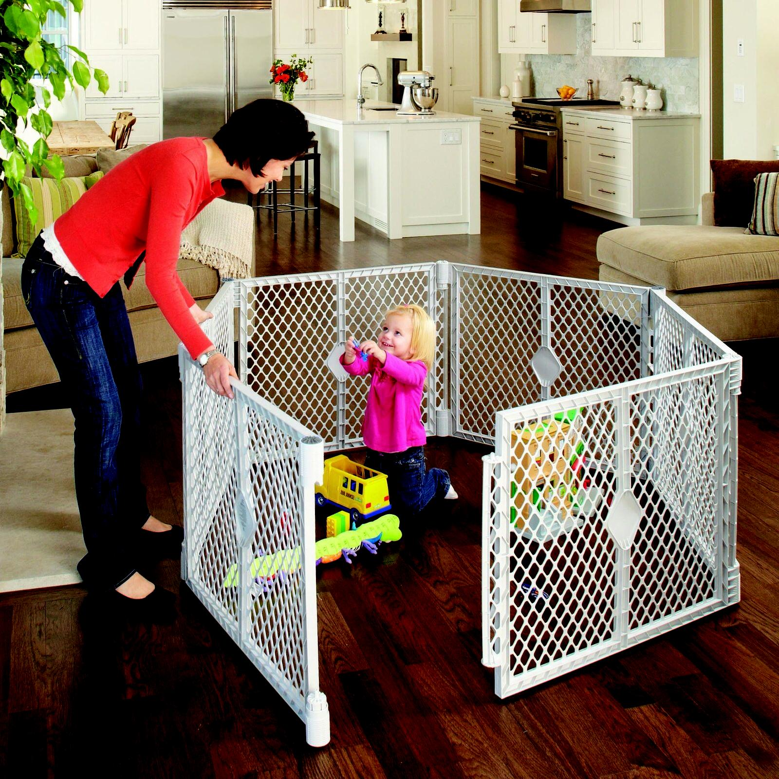 Superyard Playpen Baby North Gate States Panel 6 Play Yard S