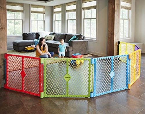 "Superyard Wall Kit"" by North to Classic, Colorplay or 6-panel 2-panel play yard extension"