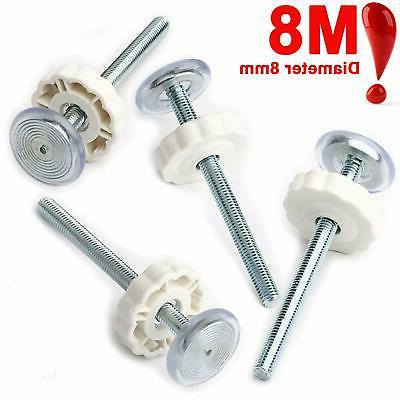 4 of Extra Long M8 8mm Spindle Rods for Pressure Mounted Gates Replacement Set
