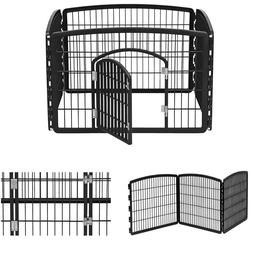 Large Indoor Outdoor Dog Pet Playpen Exercise Pen Play Yard