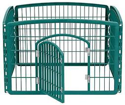 IRIS Large Indoor Outdoor Dog Pet Playpen Exercise Pen Play