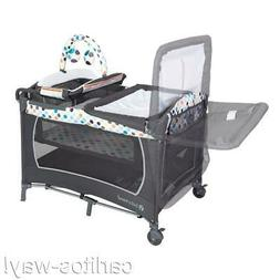 Baby Trend Lil Snooze Deluxe Nursery Center Play Yard LONS F