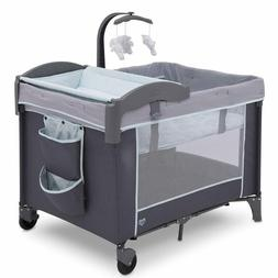 lx deluxe portable baby play yard