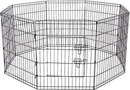 Dog Exercise Pen Pet Playpens for Small Dogs - Puppy Playpen
