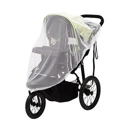 Mosquito Net for Strollers & Joggers Plus Pack n' Plays. Bre