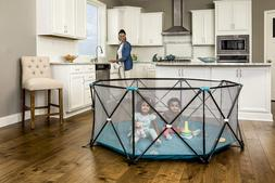 My Play Deluxe Extra Large Portable Play Yard Indoor & Outdo