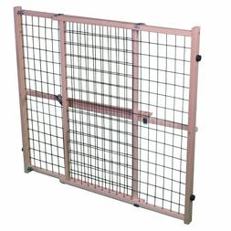 "North States Mypet 50"" Extra Wide Wire Mesh Petgate Install"