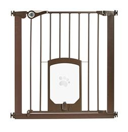 """North States MyPet 39"""" wide Petgate Passage: Secure gate wit"""