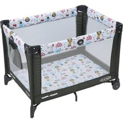 Graco Pack 'N Play Safe Fun Play Yard for Kids Playard on th
