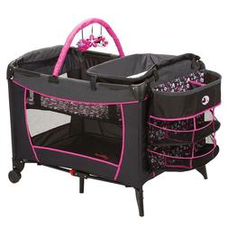 new deluxe care center play yard crib