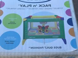 Graco - NEW in BOX - BUGS QUILT FASHION TotBloc Pack 'n Play