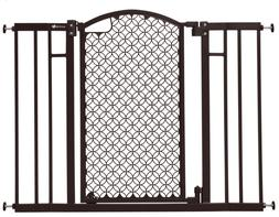 "NEW Summer Infant Union Arch Safety Gate Espresso 30""Tall Fi"