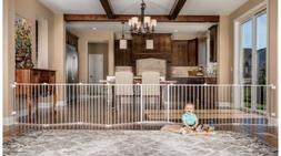 NIB Regalo 192-Inch Super Wide Adjustable Baby Gate and Play