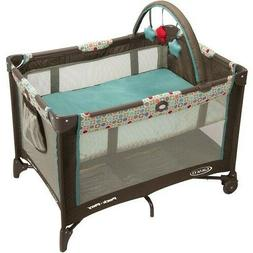 Graco Pack 'n Play On the Go Playard with Folding Bassinet,