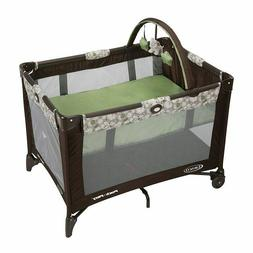 Graco Pack 'n Play On the Go Playard with Bassinet, Zuba