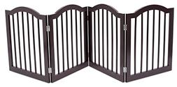 Internet's Best Pet Gate with Arched Top | 4 Panel | 24 Inch