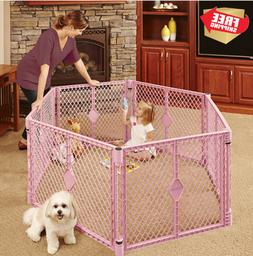 Pet Playpen Baby Infant Kids Small Dog Puppy Dogs Portable F
