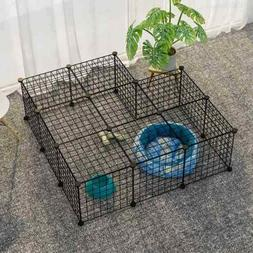 YOZO Pet Playpen Small Animal Cage Exercise Pen Kennel Play
