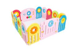 Plastic Baby Playpen 14 Panels Kids Activity Center Play Yar