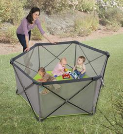 Play Yard Infant Portable Baby Play Pen Outdoor Indoor Folda