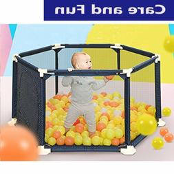 Play Yard Safety Gate Playpen Kids Infant Baby Door Fence Pa