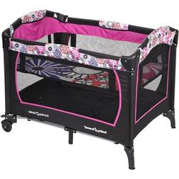 Baby Trend Playard 2 in 1 Nursery Center Play Yard with Bass