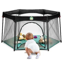 Playard Baby Portable Yard Lightweight Playing Sleeping Trav