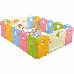 Playpen Activity Center for Babies and Kids - Multicolor 16-