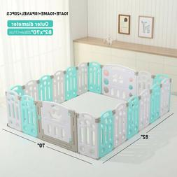 Playpen-Baby Folding playpen Kids Activity Centre Safety Pla