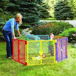 Playpen Baby Kids Play Yard Superyard Colorplay Portable Fol
