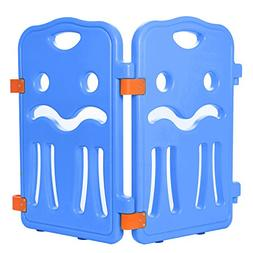 Lil' Jumbl Baby Playpen Extra Part Small  - Set of 2 - Blue