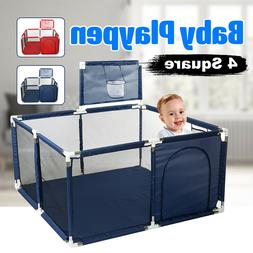 Portable Baby Playpen Play Yard Kids Play House Tent Safety