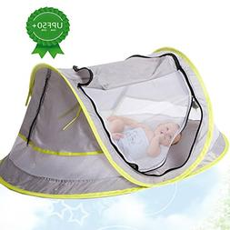 Portable Baby Beach Tent Pop up Bed Lightweight Travel Crib