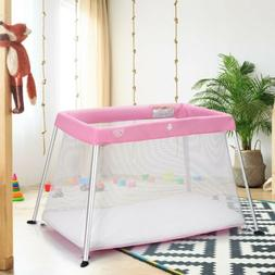 Portable Foldable Lightweight Baby Kid Playpen Playard Play
