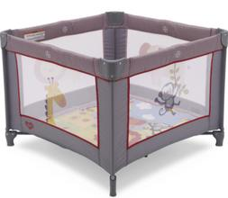 Portable Napper Baby Playpen for Girls Boy Playard Safari Pl