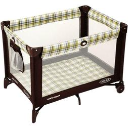 Portable Graco Pack n Play Yard Playard and Pen Foldable Yel