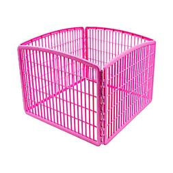 Portable Panel Pet Playpen Small Dog Cage Yard Animals Playi