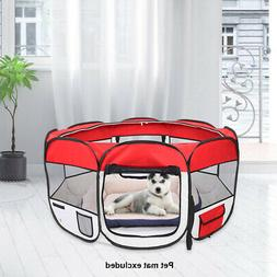 Portable Playpen Dog Outdoor Playpen Toddler Play Yards for