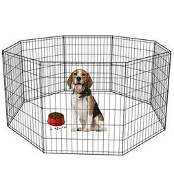 "BestPet PP-30-Black 30"" Tall Dog Playpen Crate Fence Kennel"