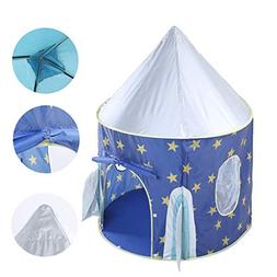 ♛Euone Rocket Ship Play Tent ♛Clearance♛, Folding Chil
