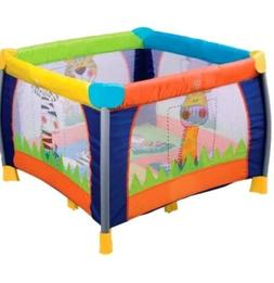 Delta Children's Fun Time Play Yard, Multi-Color