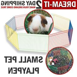 Small Pet Playpen Animal Cage Dog Fences Enclosure Small Pup