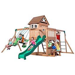 Specials Backyard Discovery Montpelier All Cedar Wood Playset
