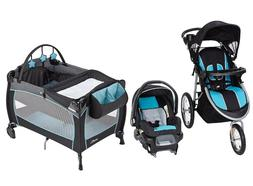 Baby Trend Stroller with Car Seat Evenflo Set Portable Babys