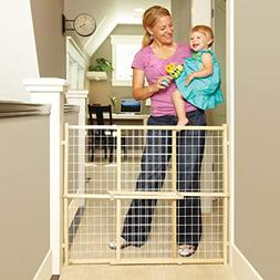"""North States 50"""" Wide Extra-Wide Wire Mesh Baby Gate: Instal"""