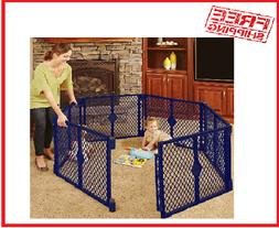North States Superyard Classic 6-Panel Play Yard, Portable I