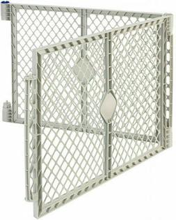 superyard gray two panel extension kit only